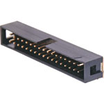 P5084 34 Pin Right Angle PCB Mount Boxed Header