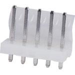 P5605 5 Way 3.96mm PCB Mount Pin Header
