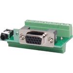 P6842 VGA Screw Connection Wallplate PCB