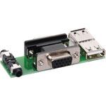 P6857 VGA/Audio/USB Plug Connection Wallplate PCB