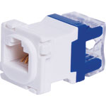 P7977 RJ45 Cat5e Socket Clipsal Clip-In Mechanism