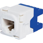 P7978 RJ45 Cat6 Socket Clipsal Clip-In Mechanism