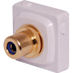 P7991 Blue RCA to F Clipsal Clip-In Mechanism