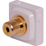 P7994 Yellow RCA to F Clipsal Clip-In Mechanism
