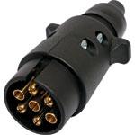 P8086 Large 7 Pin Round Trailer Plug