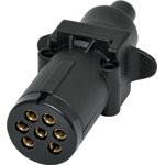 P8095 Round 7 Pin Trailer Plug
