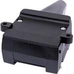 P8097 12 Pin Flat Trailer Chassis Socket