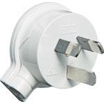 P8220 3 Pin 10A Side Entry Mains Plug HPM