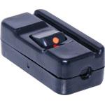 P8238 Cordline Lamp Rocker Switch Black 10A HPM