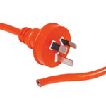 P8425X 25m 10A 3 Pin Orange Bare Ends Mains Power Cable
