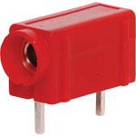 P9200 Red PCB Mount Banana Socket