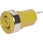 P9268 Yellow Safety Type Banana Socket