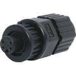 P9354 4 Pin 2A Locking Female Line IP66 Waterproof Socket