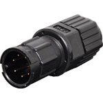 P9477 7 Pin 5A Locking Male Line IP67 Waterproof Plug