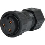 P9603 3 Pin 20A Locking Female Line IP66 Waterproof Socket