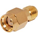 PE0437A Reverse SMA Female to SMA Female Adapter