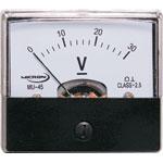 Q0525A 0-30V MU45 Panel Meter