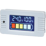 Q0587 Flush Mount Battery Capacity Meter