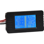 Q0592 Panel Mount Multi-Function Digital Power Meter with 200A Shunt