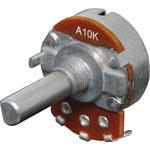 R2214 10k Log D Shaft 24mm Single Pot