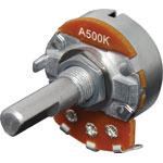 R2218 500k Log D Shaft 24mm Single Pot
