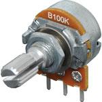 R2228 100k Lin 18T Spline 16mm Single Horizontal PCB Pot