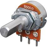 R2240 500R Lin D Shaft 16mm Single Horizontal PCB Pot