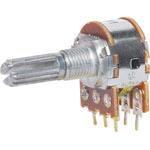 R2334 10k Log 18T Spline 16mm Dual PCB Pot