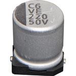 R9574 220uF 50V SMD Electrolytic Capacitor Reel pk 5
