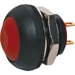S0960 SPST IP67 Rated Momentary Red Pushbutton Switch