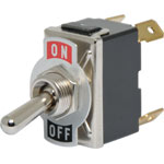 S1047 DPST On / Off 10A Heavy Duty Toggle Switch