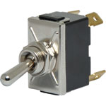 S1049 DPST Momentary On / Off 10A Heavy Duty Toggle Switch