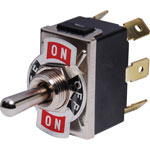 S1053 DPDT (Mom. On/Off/Mom On.) 10A Heavy Duty Toggle Switch