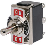 S1054  DPDT (On/Off/On) 10A Heavy Duty Toggle Switch