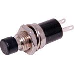 S1071A SPST Black Push Off Mini Pushbutton Switch