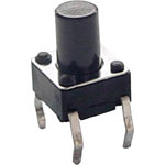 S1124 SPST Momentary PCB Mount 8mm Tactile Switch