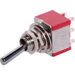 S1345 DPDT Solder Tail Mini Toggle Switch