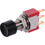 S1391 SPDT Momentary Solder Tail Pushbutton Switch