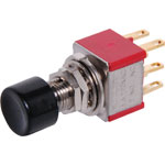S1392 DPDT Momentary Solder Tail Pushbutton Switch
