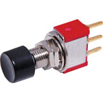 S1393 SPDT Momentary PCB Mount Pushbutton Switch