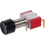 S1395 SPDT Mom. 90 Deg. Low Profile PCB Pushbutton Switch