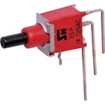 S1498 SPDT Mom. 90 Deg. PCB Sub-Mini Pushbutton Switch