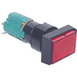 S1700 DPST Mom. Red Illuminated Solder Tail Pushbutton Switch