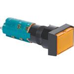 S1734 4PST Alt. Orange Illuminated Solder Tail Pushbutton Switch