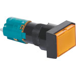 S1704 DPST Mom. Orange Illuminated Solder Tail Pushbutton Switch