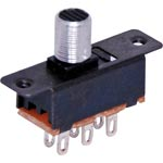 S2020 DPDT Solder Tail  Sub Miniature Slide Switch