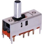 S2030 DP3T PCB Mount Miniature Slide Switch