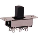 S2035A DPDT Centre Off PCB Mount Miniature Slide Switch