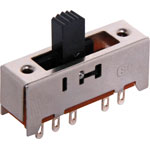 S2040 DP4T Sodler Tail Miniature Slide Switch