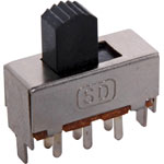 S2060 DPDT PCB Mount Miniature Slide Switch